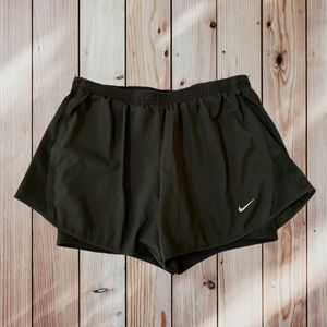 NIKE DRI-FIT Women's 2-in-1 Running Shorts- Size M